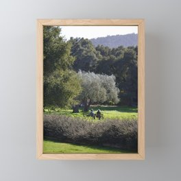 just being Framed Mini Art Print