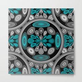Geometric arabesque Metal Print