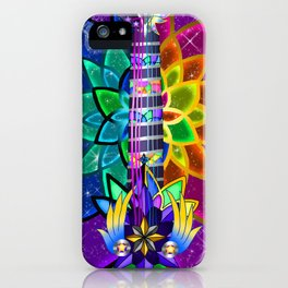 Fusion Keyblade Guitar #151 - Combined Keyblade & Star Seeker iPhone Case