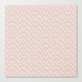 White puffs Canvas Print