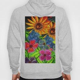 Joyful Floral Hoody