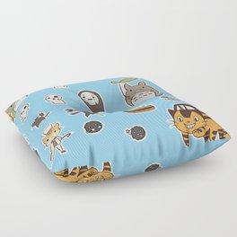 studio ghibli Floor Pillow