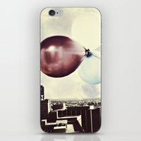 skyline iPhone & iPod Skins featuring Skyline by maybesparrowphotography
