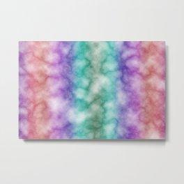 Rainbow marble texture 7 Metal Print