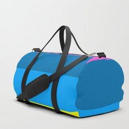 Striped Duffle Bag