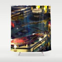 Pinball 3 Shower Curtain