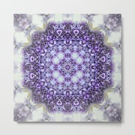 blue Hyacinthus N°2  ( pillow) Metal Print