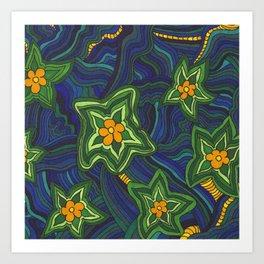 Some Flower Power Art Print