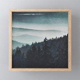 Mountain Light Framed Mini Art Print