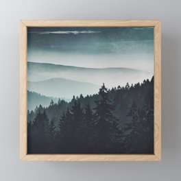 Mountain Light Framed Mini Art Print
