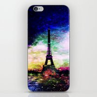 eiffel tower iPhone & iPod Skins featuring eiffel tower by haroulita