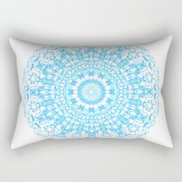 Mandala 12 / 2 eden spirit light blue turquoise Rectangular Pillow