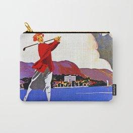 Cadenabbia Lake Como Golf And Tennis Carry-All Pouch