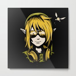 DJ Link Metal Print