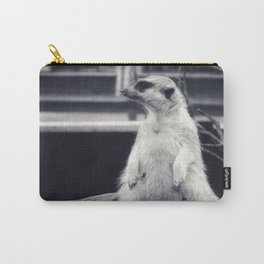 The Observent Meerkat Carry-All Pouch