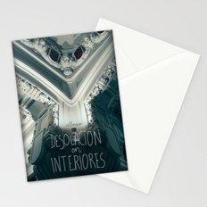 Desolación en interiores Stationery Cards
