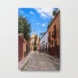 San Miguel de Allende : Calle Aldama Afternoon Metal Print