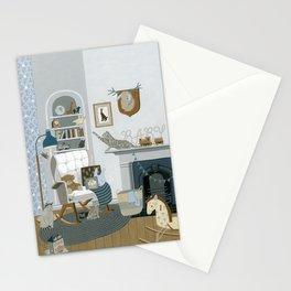 Baby Animal Nursery Stationery Cards