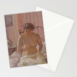 Nude in an Interior - Harold Gilman Stationery Cards