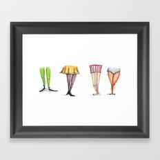 Legwork Framed Art Print