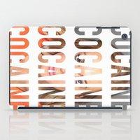 cocaine iPad Cases featuring LINDSAY LOHAN - COCAINE by Beauty Killer Art