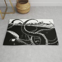 Kraken Rules the Sea Rug