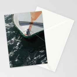 Seafood boat Stationery Cards