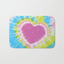 Love Tye Dye 2 Bath Mat