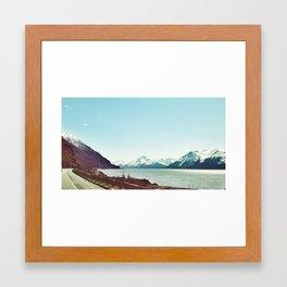 Alaska by Car Framed Art Print