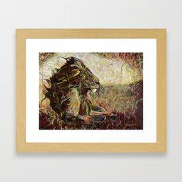 Fire, Wind and Spirit Framed Art Print