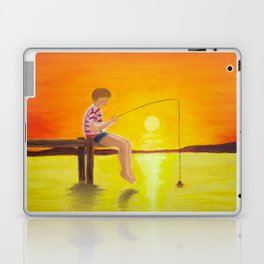 Fishin' Laptop & iPad Skin