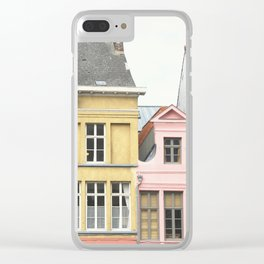 Gent Houses Clear iPhone Case
