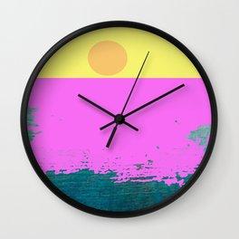 Sunset Passion Wall Clock