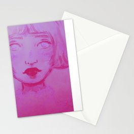 Missing You Pink  Stationery Cards
