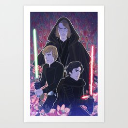 Sons of Skywalker Art Print