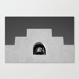 Southwestern school bell Canvas Print
