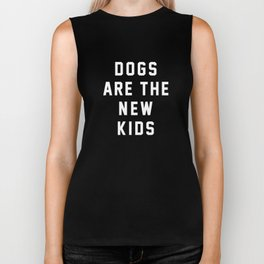 Dogs are the New Kids Biker Tank