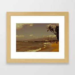 Vintage Maui Framed Art Print