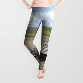 Barn Idaho (2005) by Carol M Highsmith Leggings