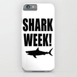 Shark Week iPhone Case