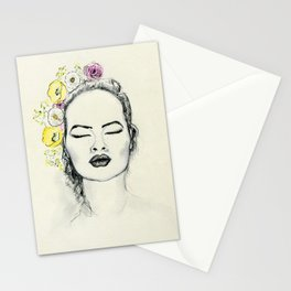 Floral Kiss Stationery Cards