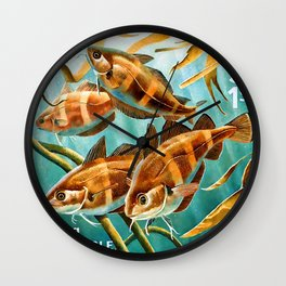 Pouting Wall Clock