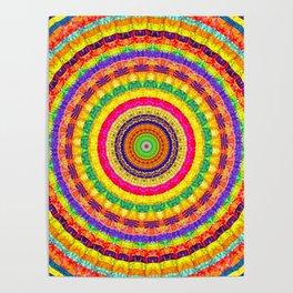 Batik Bullseye Poster