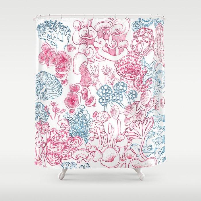 Mycology 1 Shower Curtain