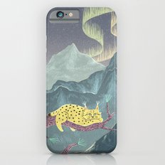Lynx in Northern Lights iPhone 6s Slim Case