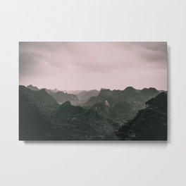 Mysterious Woods. Surreal Nature Photography. Cat Ba Island, Vietnam. Metal Print