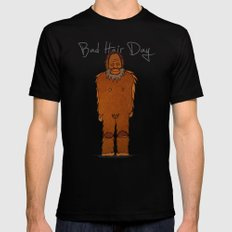 bad hair day no:4 / Bigfoot MEDIUM Mens Fitted Tee Black