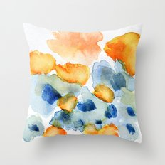 flower inkling Throw Pillow