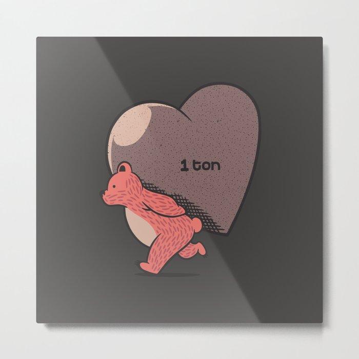 Bear My Love Metal Print