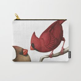 Northern Cardinals Carry-All Pouch